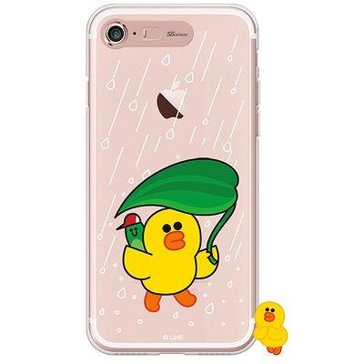 [SG DESIGN] iPHONE7 8라인프렌즈 샐리 RAIN LIGHT U