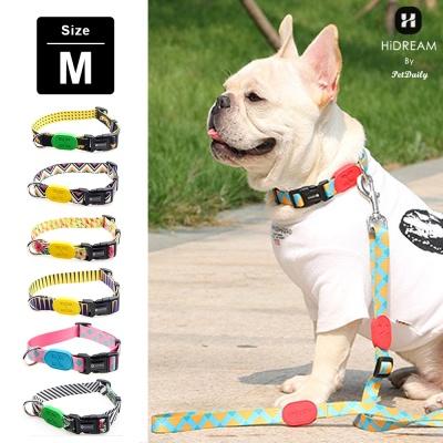 펫데일리 하이드림 유니크 디자인 강아지 목줄-M size