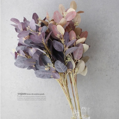 [2HOT] 엔틱 잎 가지 조화 1P