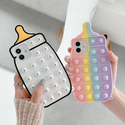 아이폰12 미니 11 pro max 젖병 푸쉬팝 팝잇 폰케이스