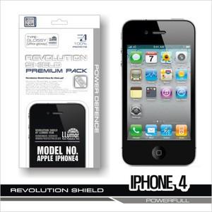 [프로텍트엠/PROTECTM] 아이폰4/iPhone4 레볼루션쉴드 프리미엄팩 전신보호필름+액정보호필름
