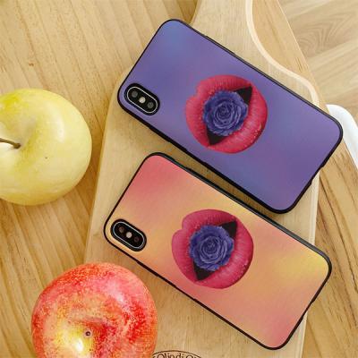 아이폰7플러스 DAAE 꽃을물고 카드케이스