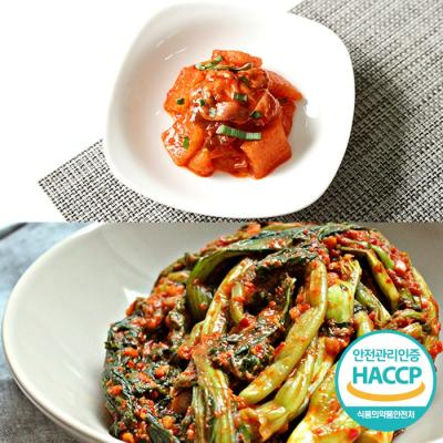 [HACCP] 한옹 꼴깍 400g + 갓김치 5kg