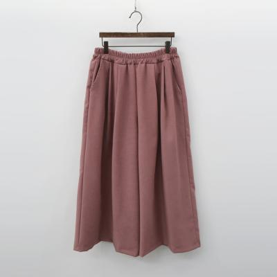 Warm Wide Pants - 치마바지