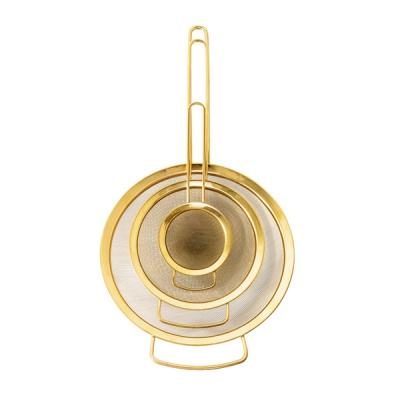 [Blooming]Strainer Gold Finish Set of 3 거름망21183953