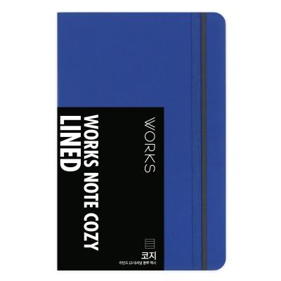 웍스 노트 코지 라인드 13 내셔널 블루 맥시