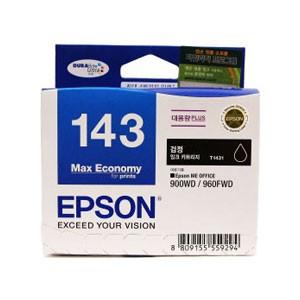 엡손(EPSON) 잉크 C13T143170 / NO.143 / 검정