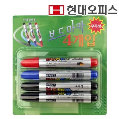 보드마카 혼합 (1갑 4개입) / 보드소모품