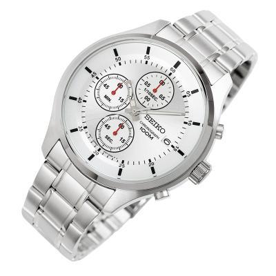 세이코  크로노그래프 메탈 남성 손목시계 SKS535P1