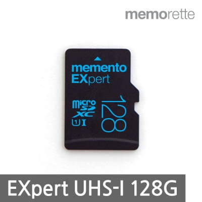 [메모렛] 마이크로SD카드 EXpert 128G UHS-I U1 CLASS10 MicroSD