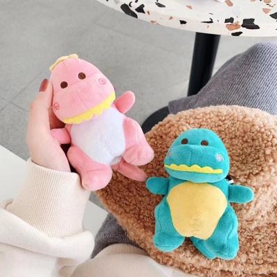 철가루스티커/에어팟1 2 공룡인형 젤리케이스_핑크472