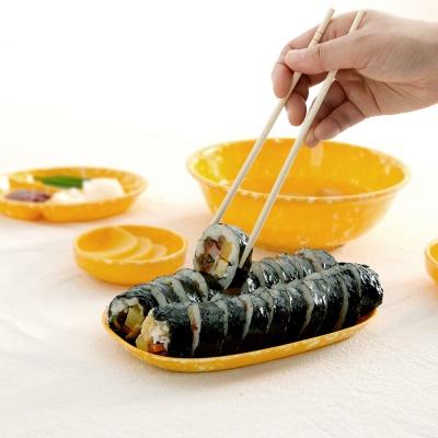 병아리 김밥 접시