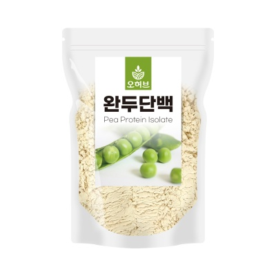 완두콩단백질 500g 비건 식물성 단백질 쉐이크 파우더