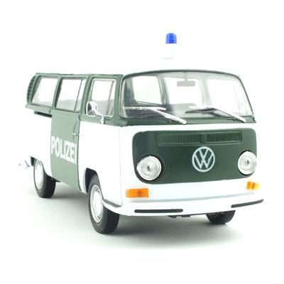 1/24 VOLKSWAGEN Bus T2 1972 POLIZEI (WE124724PO) 폭스바겐 경찰차 모형자동차