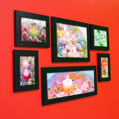 cw119-달콤한향초는아름다운꽃과함께_인테리어액자