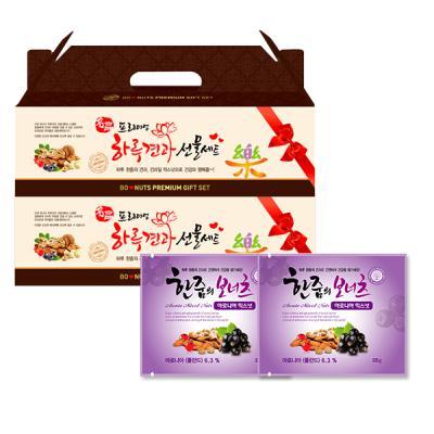한줌의보너츠 아로니아믹스넛 20g x 50봉 선물세트