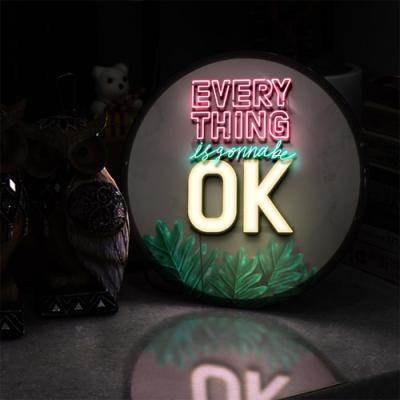 ne580-LED액자25R_Everythings is gonna be ok