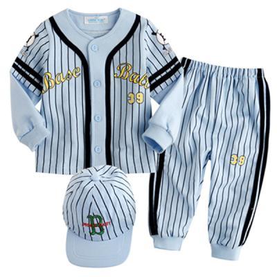 한국생산 야구 상하복n모자 블루(90-100) 801606