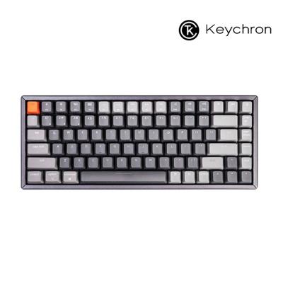 Keychron 84키 기계식키보드 RGB 알루미늄 다크그레이