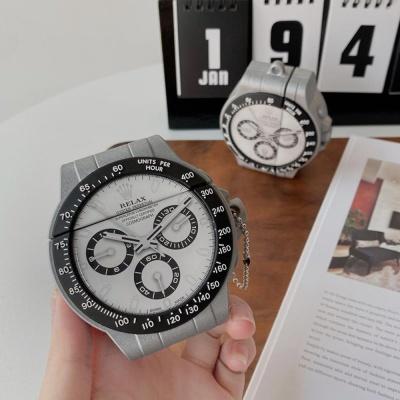 에어팟케이스 1세대 롤 시계 실리콘 철가루방지스티커