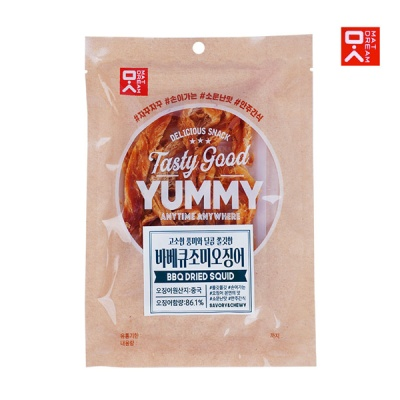 [MAT DREAM] 쫄깃한 감칠맛 바베큐오징어 40gx3봉