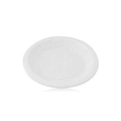 일회용 접시 위생 식기 트레이 캠핑 그릇 14cm 10매입