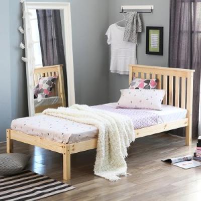 [베스트리빙]어거스트 원목 침대C3.4