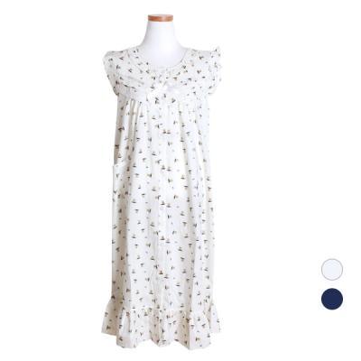[쿠비카]베어 레이온 원피스 민소매 여성잠옷 W448