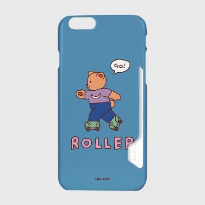 Roller bear-indigo blue(카드수납케이스)
