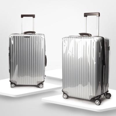 프리미엄 투명 PVC 지퍼 캐리어 커버
