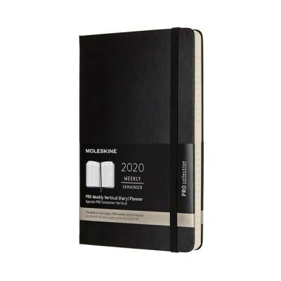 몰스킨 2020프로 위클리(세로형)/블랙 L