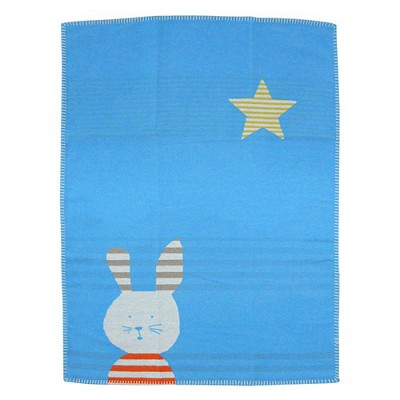 키즈 버니 블랭킷-블루(70x90cm)