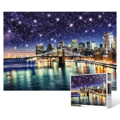 1000피스 직소퍼즐 - 별빛의 브루클린 브릿지
