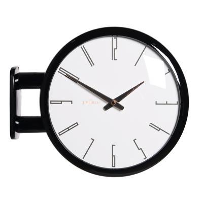 (ktk144)심플 블랙양면시계 (A7)