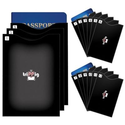 트리피그 해킹방지 카드 여권 불법스키밍 방지 15개 세트