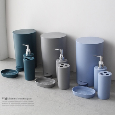 [2HOT] 이누스바스 데일리 심플 욕실용품 4P 세트