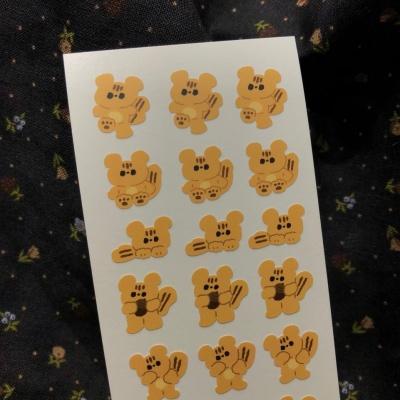 [베베] 다람쥐 스티커