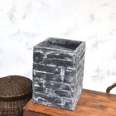 빈티지 시멘트화분 HB02 긴사각 27x27x39cm