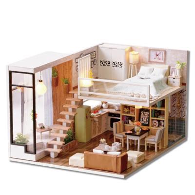 [adico]DIY 미니이처 하우스 - 디럭스 하우스
