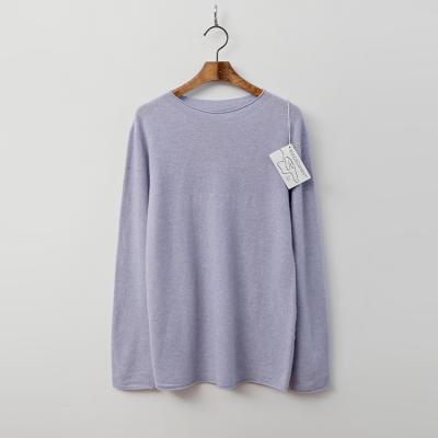 Maille Cashmere N Wool Roll Sweater
