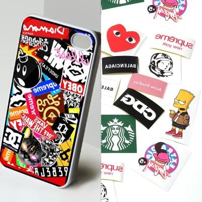 에어팟 아이폰 스마트폰 노트북 맥북 스티커