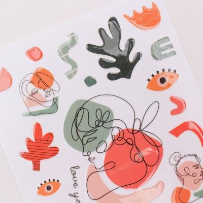 Miccudo 크리스탈 럽 온 스티커 - 11