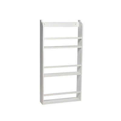 [Hubsch]Plate rack, wood, white 888020 벽선반