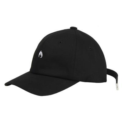 [ARSON] #AC-015 arson LONG STRAP BASEBALL CAP (BK)