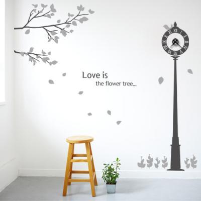 ih691-로맨틱가든_그래픽시계_그래픽벽시계(중형)