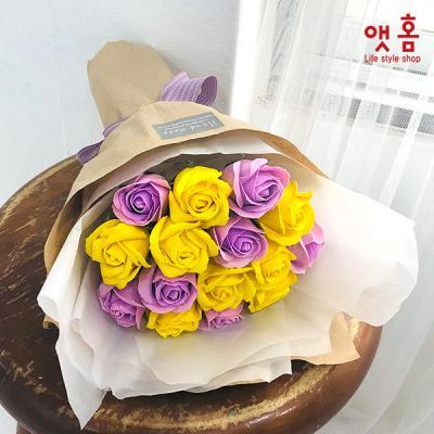 앳홈 퍼퓸 로즈 꽃다발