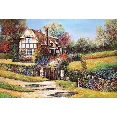 1000피스 직소퍼즐 - 들꽃이 가득 핀 정원