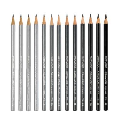 [CARAN DACHE] 4H부터 8B까지..까렌다쉬 최고급연필..그라프우드 775(3개입)