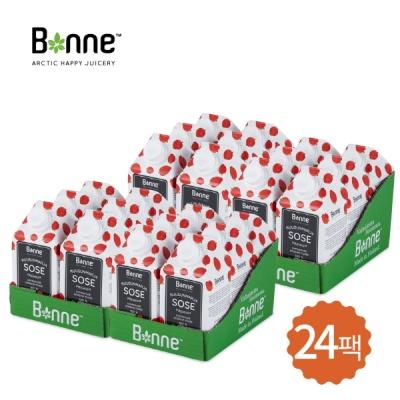 본네 (BONNE) 로즈힙 퓨레 주스 24팩, 24개입, 500ml