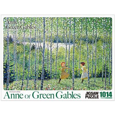 빨강머리앤 직소퍼즐 1014pcs 자작나무숲의 녹색바람
